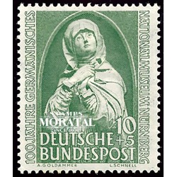 1952 Germany BRD Sc B324 Museum Nuremberg (Madonna)  *MH Nice, Mint Hinged  (Scott)
