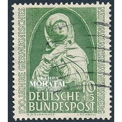 1952 Germany BRD Sc B324 Museum Nuremberg (Madonna)  (o) Used, Nice  (Scott)