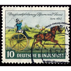 1952 Germany BRD Sc 692 Stamp Day '52  (o) Used, Nice  (Scott)