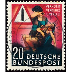 1953 Germany BRD Sc 694 Traffic  (o) Used, Nice  (Scott)