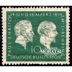 1954 Germany BRD Sc 722 Theodore Heuss  (o) Used, Nice  (Scott)