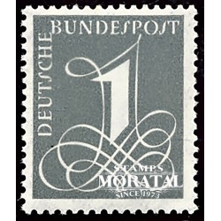 1955 Germany BRD Sc 737 Basic figure  **MNH Very Nice, Mint Never Hinged?  (Scott)