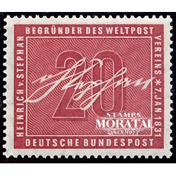 1956 Germany BRD Sc 738 Heinrich Von Stephan  **MNH Very Nice, Mint Never Hinged?  (Scott)
