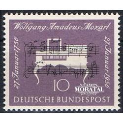 1956 Germany BRD Sc 739 W.A. Mozart  **MNH Very Nice, Mint Never Hinged?  (Scott)