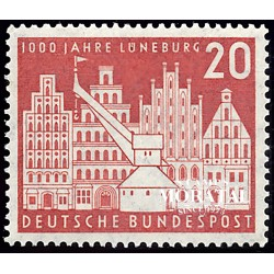 1956 Germany BRD Sc 741 Lüneburg  **MNH Very Nice, Mint Never Hinged?  (Scott)