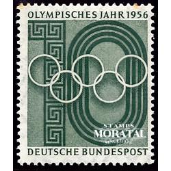 1956 Germany BRD Sc 742 O.G. Melbourne  **MNH Very Nice, Mint Never Hinged?  (Scott)