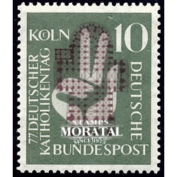 1956 Germany BRD Sc 750 Catholic Colony  **MNH Very Nice, Mint Never Hinged?  (Scott)
