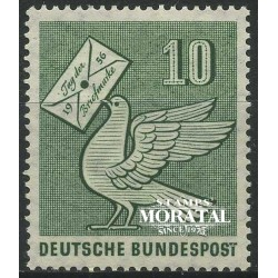 1956 Germany BRD Sc 752 Stamp Day '53  **MNH Very Nice, Mint Never Hinged?  (Scott)