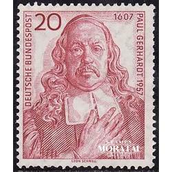 1957 Germany BRD Sc 763 Paul Gerhardt  **MNH Very Nice, Mint Never Hinged?  (Scott)