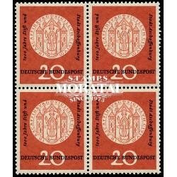 1957 Germany BRD Sc 765 Aschaffenburg  *MH Nice, Mint Hinged  (Scott)