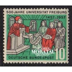 1957 Germany BRD Sc 766 University Freiburg  **MNH Very Nice, Mint Never Hinged?  (Scott)