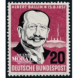 1957 Germany BRD Sc 769 Albert Ballin  **MNH Very Nice, Mint Never Hinged?  (Scott)