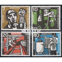 1957 Germany BRD Sc B356/B359 Welfare Organizations  **MNH Very Nice, Mint Never Hinged?  (Scott)