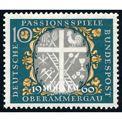 1960 Germany BRD Sc 810 Passion parties  **MNH Very Nice, Mint Never Hinged?  (Scott)
