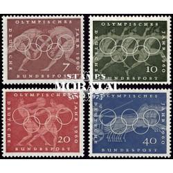 1960 Germany BRD Sc 813/816 60 Rome Olympiad  **MNH Very Nice, Mint Never Hinged?  (Scott)
