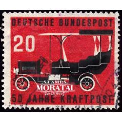 1955 Germany BRD Sc 728 Post car  (o) Used, Nice  (Scott)