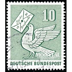1956 Germany BRD Sc 752 Stamp Day '53  (o) Used, Nice  (Scott)