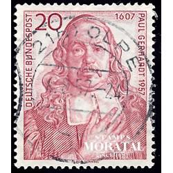 1957 Germany BRD Sc 763 Paul Gerhardt  (o) Used, Nice  (Scott)