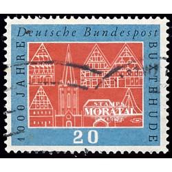 1959 Germany BRD Sc 801 Millennium Buxtehude  (o) Used, Nice  (Scott)