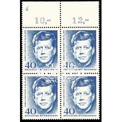 1964 Germany BRD Sc 901 John Kennedy  Block 4 Nice  (Scott)