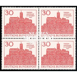1967 Germany BRD Sc 976 Martin Luther  Block 4 Nice  (Scott)