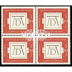 1971 Germany BRD Sc 1070 Durero  Block 4 Nice  (Scott)