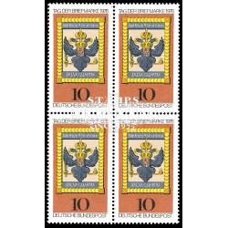 1976 Germany BRD Sc 1224 Stamp Day '76  Block 4 Nice  (Scott)