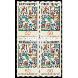 1977 Germany BRD Sc 1230 Popular legend  Block 4 Nice  (Scott)