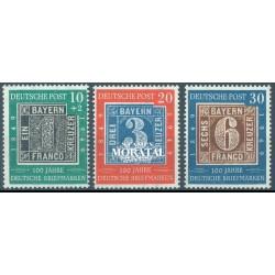 1949 Germany BRD Sc B310/B313 Welfare Organizations  *MH Nice, Mint Hinged  (Scott)