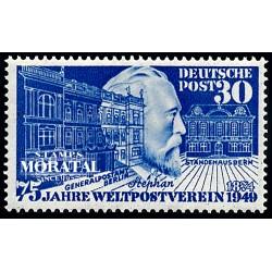 1949 Germany BRD Sc B314/B315 Johann Sebastian Bach  *MH Nice, Mint Hinged  (Scott)