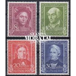 1949 Germany BRD Sc B310/B313 Welfare Organizations  **MNH Very Nice, Mint Never Hinged?  (Scott)