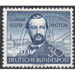 1952 Germany BRD Sc 688 Nikolaus Otto  *MH Nice, Mint Hinged  (Scott)