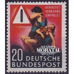 1953 Germany BRD Sc 694 Traffic  *MH Nice, Mint Hinged  (Scott)