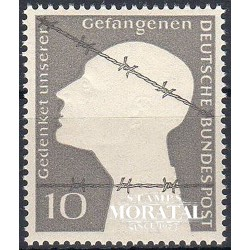 1953 Germany BRD Sc 697 WW II Prisoners  *MH Nice, Mint Hinged  (Scott)