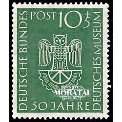 1953 Germany BRD Sc B331 Museum Munich  *MH Nice, Mint Hinged  (Scott)
