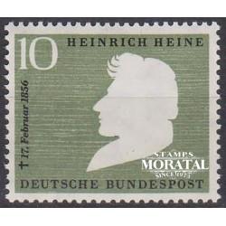 1956 Germany BRD Sc 740 Basic figure  *MH Nice, Mint Hinged  (Scott)