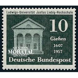 1957 Germany BRD Sc 768 Justus Liebig University  *MH Nice, Mint Hinged  (Scott)