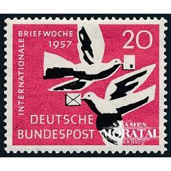 1957 Germany BRD Sc 775 Week Charter  *MH Nice, Mint Hinged  (Scott)