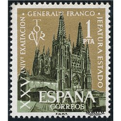1961 Espagne 1046 Exaltation  **MNH TTB Très Beau  (Yvert&Tellier)