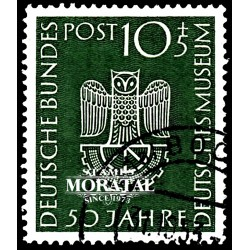 1953 Germany BRD Sc B331 Museum Munich  (o) Used, Nice  (Scott)