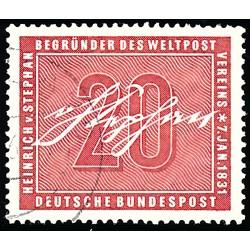 1956 Germany BRD Sc 738 Heinrich Von Stephan  (o) Used, Nice  (Scott)