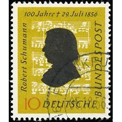 1956 Germany BRD Sc 743 Robert Schumann  (o) Used, Nice  (Scott)