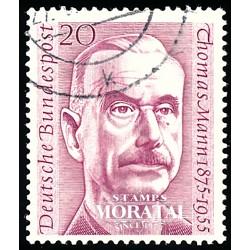 1956 Germany BRD Sc 746 Thomas Mann  (o) Used, Nice  (Scott)