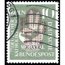 1956 Germany BRD Sc 750 Catholic Colony  (o) Used, Nice  (Scott)