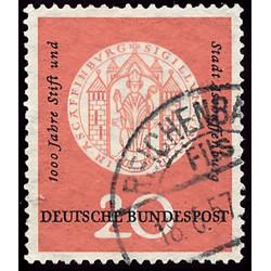 1957 Germany BRD Sc 765 Aschaffenburg  (o) Used, Nice  (Scott)
