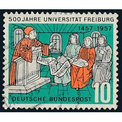 1957 Germany BRD Sc 766 University Freiburg  (o) Used, Nice  (Scott)