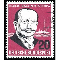 1957 Germany BRD Sc 769 Albert Ballin  (o) Used, Nice  (Scott)
