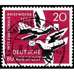 1957 Germany BRD Sc 775 Week Charter  (o) Used, Nice  (Scott)