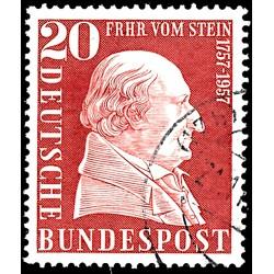 1957 Germany BRD Sc 776 Baron Von Stein  (o) Used, Nice  (Scott)