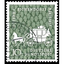 1957 Germany BRD Sc 779 Von Eichendorff  (o) Used, Nice  (Scott)